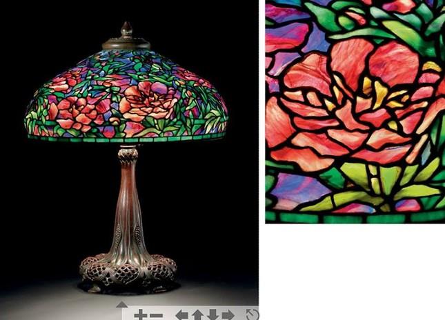 Đèn Tiffany - Thú sưu tầm quý tộc ảnh 7