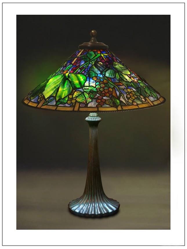 Đèn Tiffany - Thú sưu tầm quý tộc ảnh 9