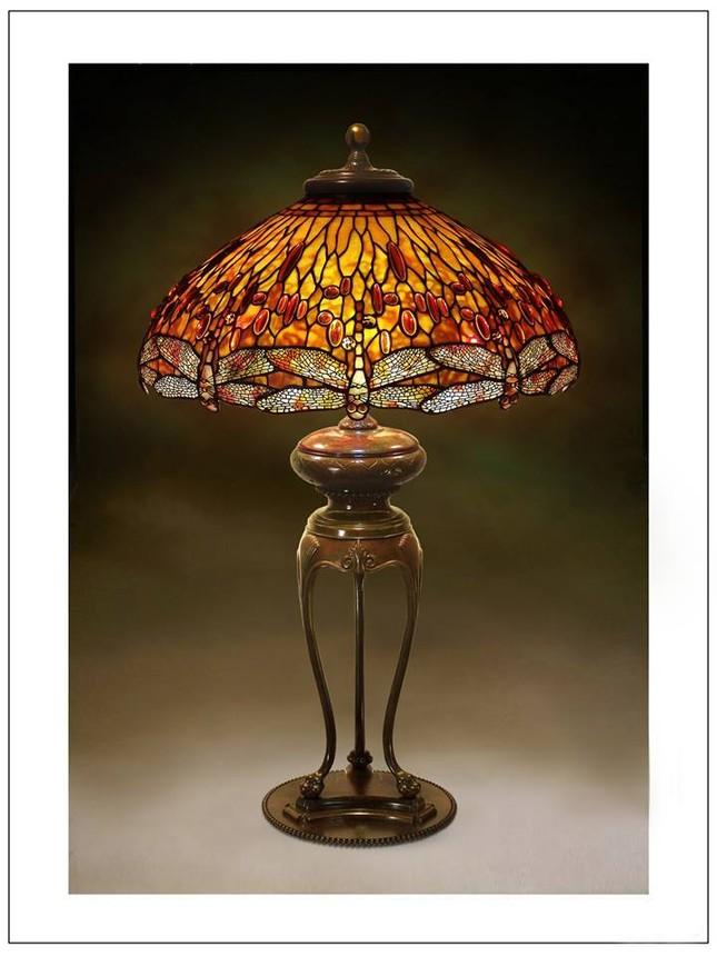 Đèn Tiffany - Thú sưu tầm quý tộc ảnh 5