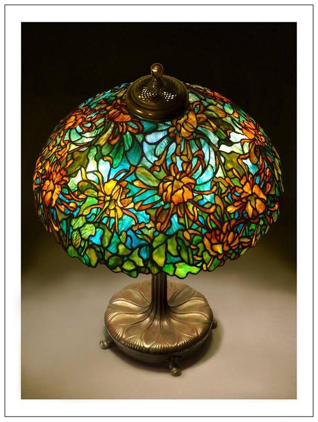 Đèn Tiffany - Thú sưu tầm quý tộc ảnh 6