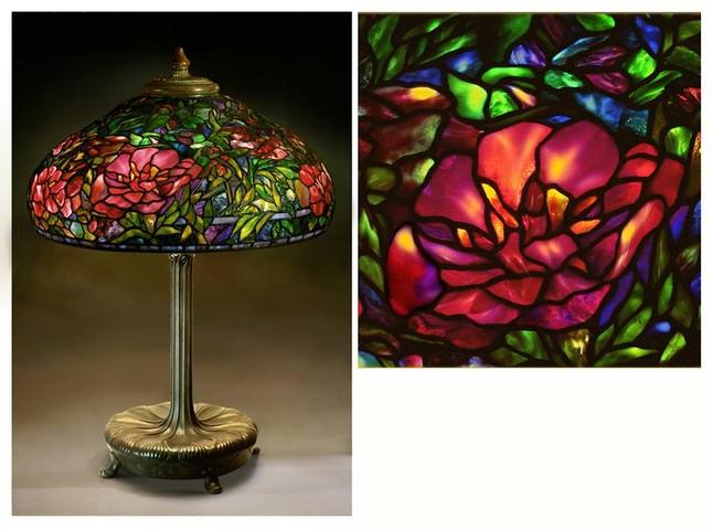 Đèn Tiffany - Thú sưu tầm quý tộc ảnh 1