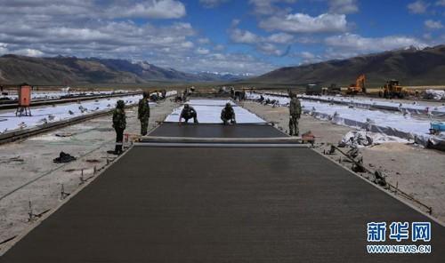 Sân bay quân sự bí mật của Trung Quốc giữa núi tuyết ảnh 5