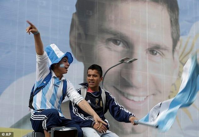 Messi được chào đón như người hùng ở Argentina ảnh 6