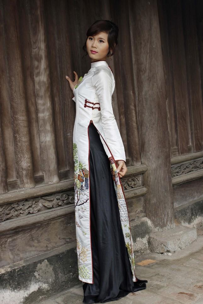 Người đẹp Kinh Bắc thăm Chùa Bút Tháp ảnh 7