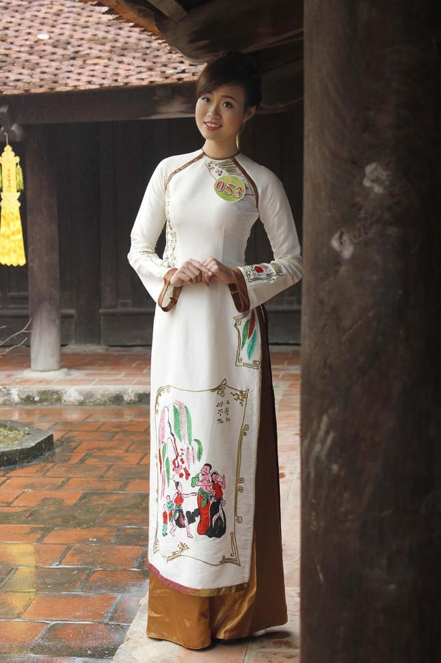 Người đẹp Kinh Bắc thăm Chùa Bút Tháp ảnh 4