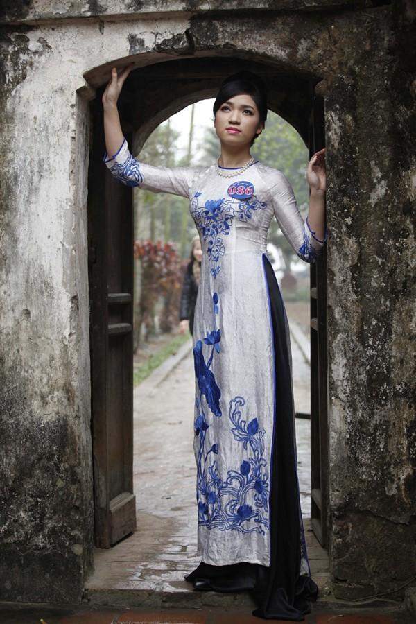 Người đẹp Kinh Bắc thăm Chùa Bút Tháp ảnh 5