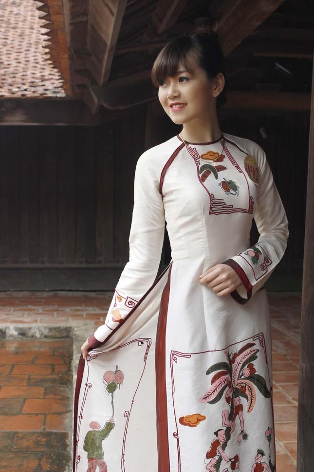 Người đẹp Kinh Bắc thăm Chùa Bút Tháp ảnh 2
