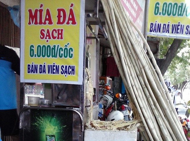 Cận cảnh sản xuất nước mía 6.000 đồng tại Hà Nội ảnh 1