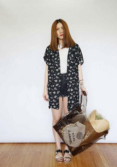 Áo khoác mùa hè sành điệu của sao Việt ảnh 5