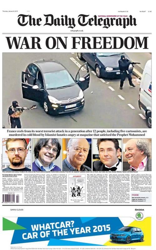 Nghi can 18 tuổi vụ thảm sát tòa soạn Pháp đầu hàng ảnh 29