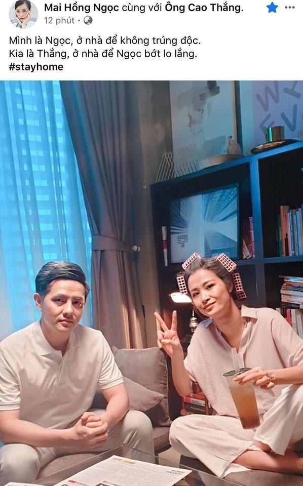 Sao Việt hào hứng theo trend 'ở nhà': 'Tôi là Tự Long, ở nhà cho nước nó trong' ảnh 4
