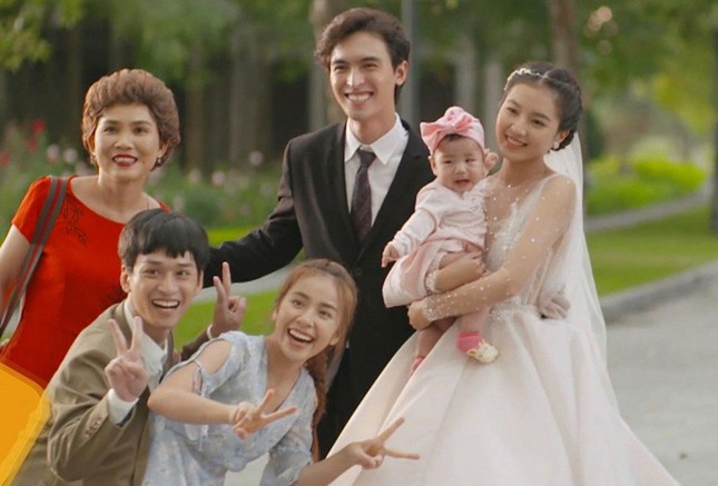 Diễn viên Bích Ngọc tiết lộ về quá trình làm mẹ của 5 em bé trong 'Nhà trọ Balanha' ảnh 3