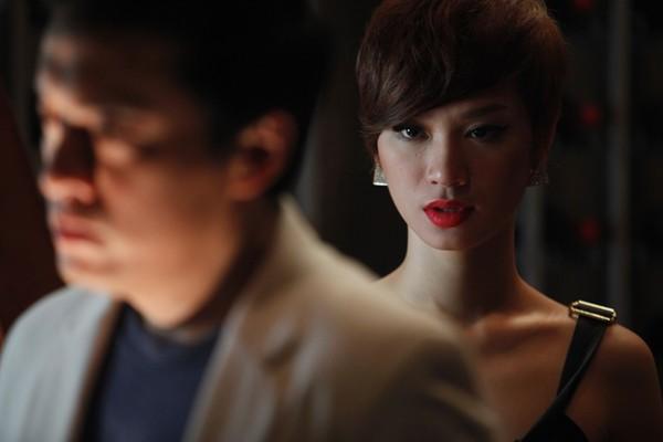 Trà My Idol đắm đuối hôn Lam Trường ảnh 1