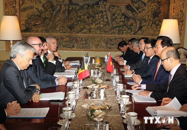 Thủ tướng kết thúc tốt đẹp chuyến thăm chính thức Bỉ, EU ảnh 2