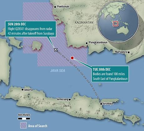 Tiết lộ sốc về vùng biển Java nơi QZ8501 rơi ảnh 1