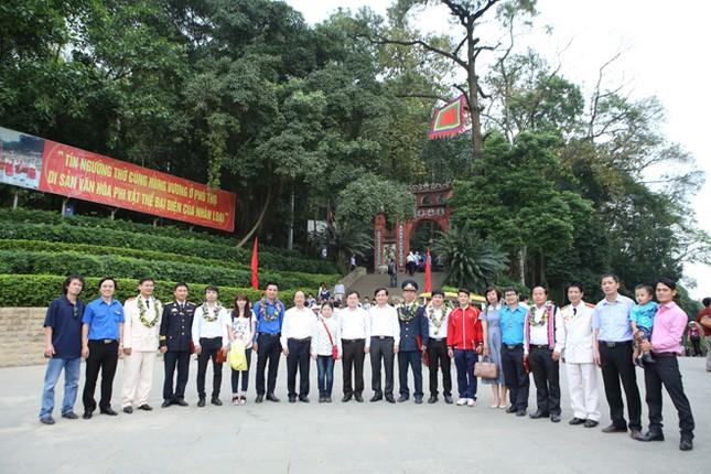 Gương mặt trẻ Việt Nam tiêu biểu báo công Vua Hùng ảnh 5