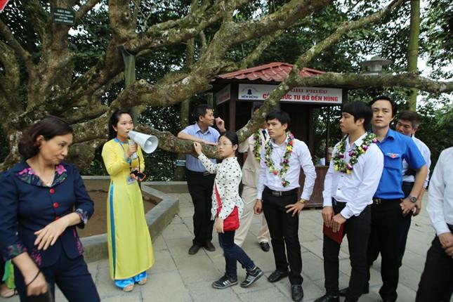 Gương mặt trẻ Việt Nam tiêu biểu báo công Vua Hùng ảnh 17