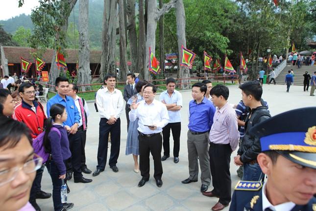 Gương mặt trẻ Việt Nam tiêu biểu báo công Vua Hùng ảnh 9