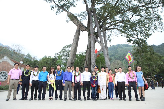 Gương mặt trẻ Việt Nam tiêu biểu báo công Vua Hùng ảnh 21