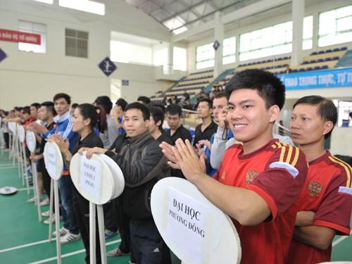 Khai mạc giải bóng bàn Cúp báo Sinh Viên Việt Nam lần III ảnh 4