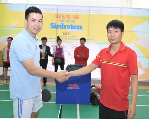 Khai mạc giải bóng bàn Cúp báo Sinh Viên Việt Nam lần III ảnh 5