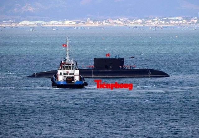 Tàu ngầm 186 – Đà Nẵng đã vào cảng Lữ đoàn tàu ngầm 189 ảnh 3