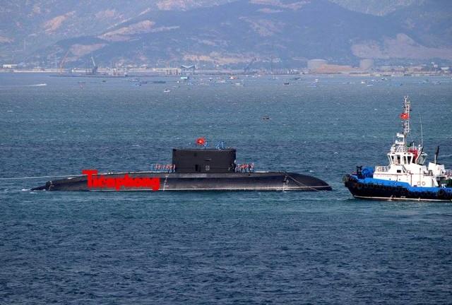 Tàu ngầm 186 – Đà Nẵng đã vào cảng Lữ đoàn tàu ngầm 189 ảnh 5