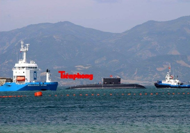 Tàu ngầm 186 – Đà Nẵng đã vào cảng Lữ đoàn tàu ngầm 189 ảnh 4