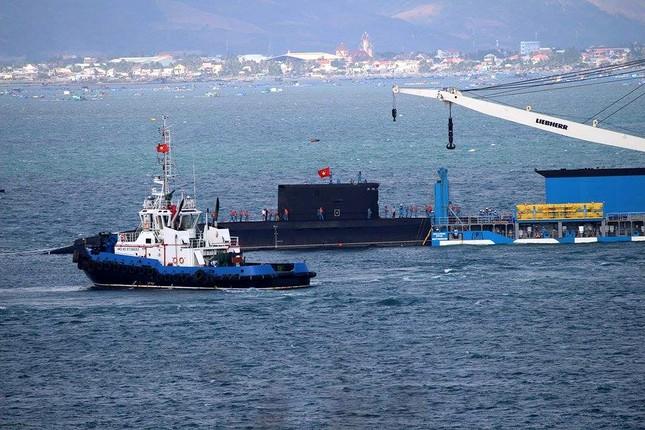 Tàu ngầm 186 – Đà Nẵng đã vào cảng Lữ đoàn tàu ngầm 189 ảnh 2