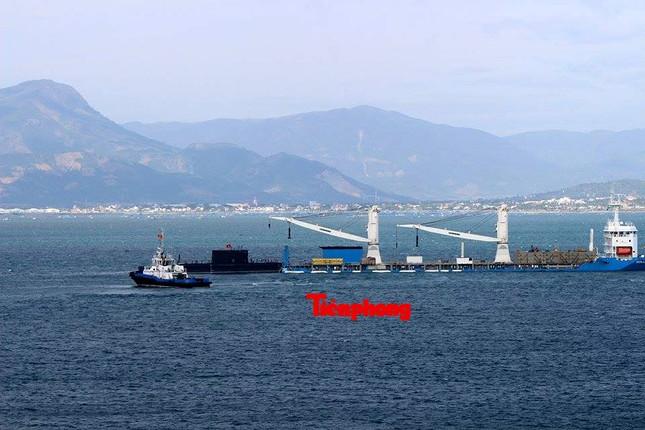Tàu ngầm 186 – Đà Nẵng đã vào cảng Lữ đoàn tàu ngầm 189 ảnh 7