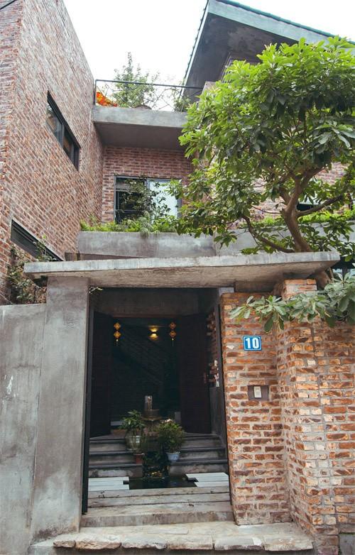 Nhà không sơn trát khiến hàng xóm tò mò ở Vĩnh Phúc ảnh 2