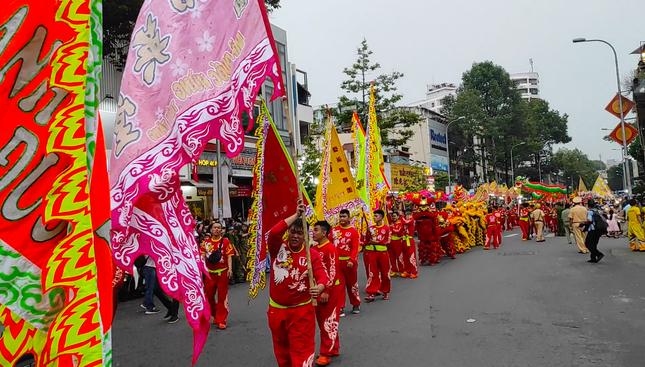 Tết Nguyên tiêu người Hoa ở quận 5 nhận Bằng Di sản văn hóa phi vật thể quốc gia ảnh 12