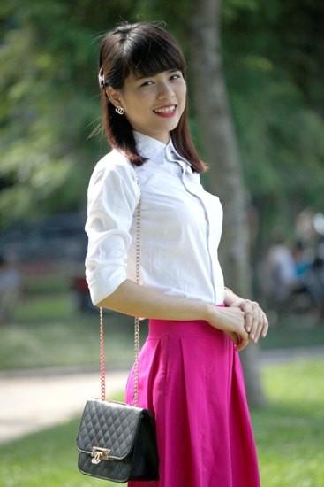 Cô giáo tương lai dự Chung khảo Người đẹp Tây Thiên ảnh 3