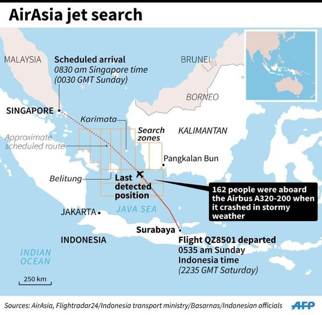 Phát hiện thân máy báy QZ8501? ảnh 2