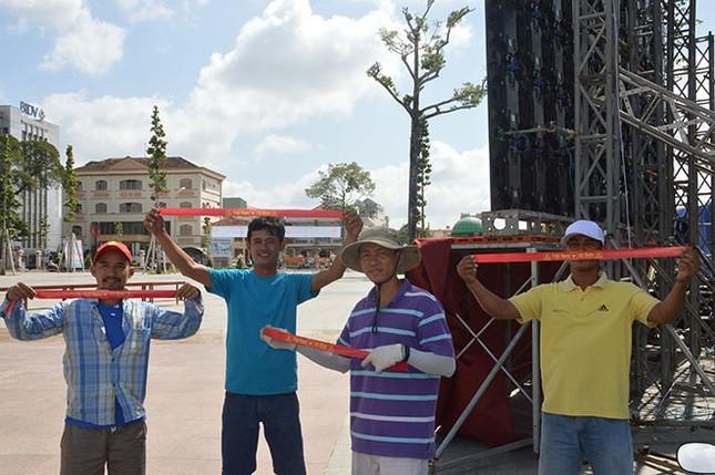 Trước giờ bóng lăn chung kết U23 Châu Á: Náo nhiệt ở Sóc Trăng ảnh 4
