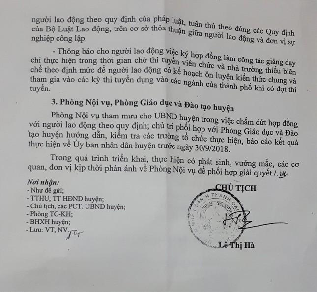 300 giáo viên Thanh Oai sắp mất việc: Cần lời giải thích rõ ràng ảnh 2