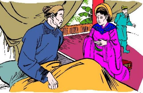 Năm 1179, khi Tô Hiến Thành ốm nặng, Đỗ Thái hậu (mẹ của Lý Cao Tông) tới thăm và hỏi Tô Hiến Thành người có thể thay thế ông khi ông mất. Tô Hiến Thành đã tiến cử ai sau đây?