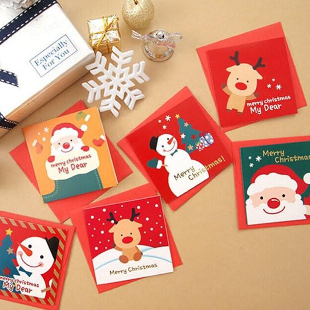 Thiệp giáng sinh xuất hiện lần đầu tiên là năm nào?