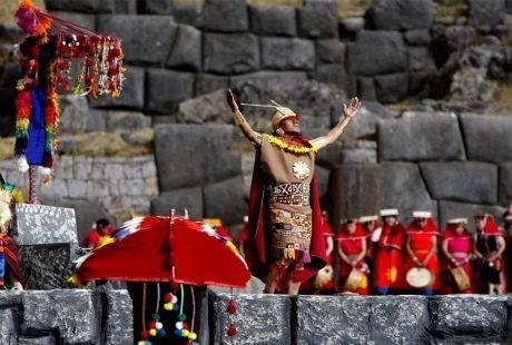 Lễ hội Inti Raymi ở Peru để tôn vinh?