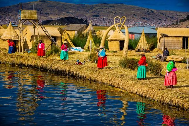 Hồ Titicaca là hồ?
