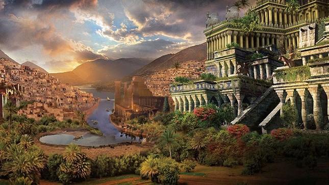 Vườn treo Babylon được xây dựng nên từ khoảng năm nào?