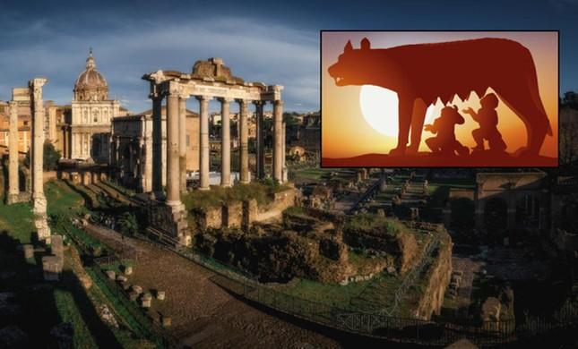 Thành phố Rome được xây dựng dưới thời hoàng đế nào?