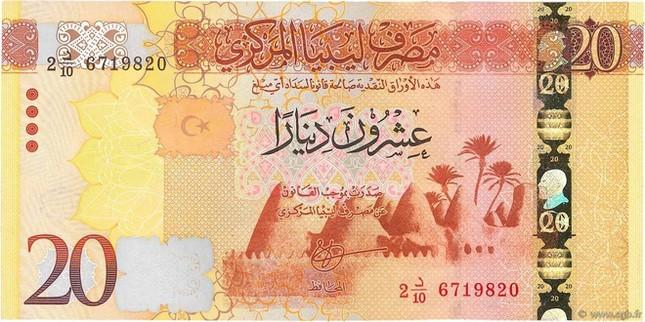Đơn vị tiền tệ của Libya là gì?