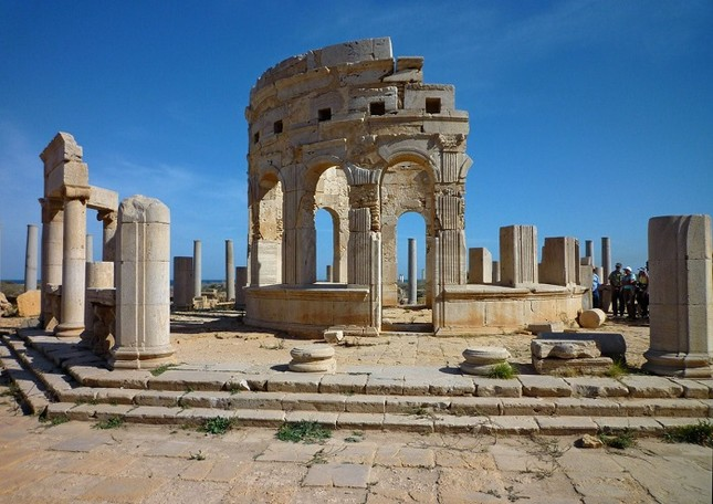 Di sản Leptis Magna của Libya được UNESCO công nhận được bảo tồn từ thế kỷ nào?