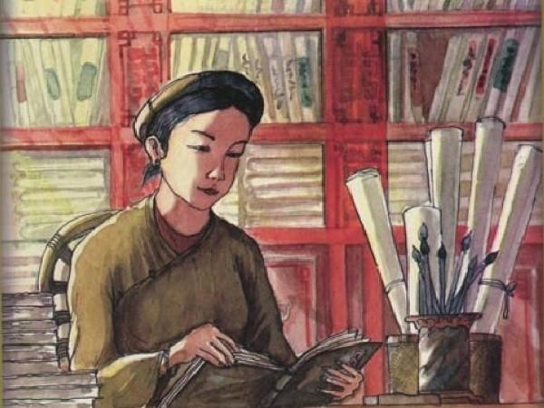 Nữ thi sĩ nổi danh nào trong sử Việt dám tự ý thăng đường xử án thay chồng?