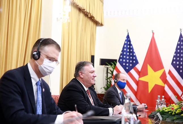 Hình ảnh Phó Thủ tướng, Bộ trưởng Bộ Ngoại giao Phạm Bình Minh hội đàm Ngoại trưởng Hoa Kỳ ảnh 5