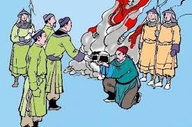Người chú nào của vua Trần Thánh Tông từng dẫn quân Nguyên về xâm lược nước ta nhưng bị quân Trần đánh cho tan tác?