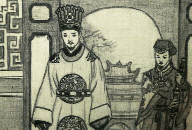 Vua Lê Thần Tông được đánh giá có tướng mạo đế vương, mũi cao, mặt rồng,…?