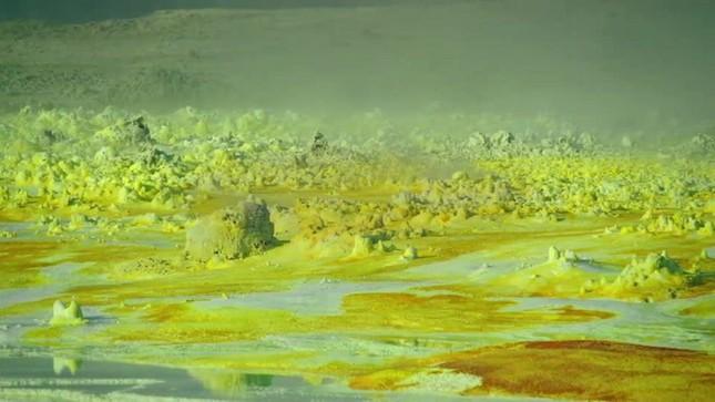 Hồ núi lửa Dallol nằm ở nước nào?