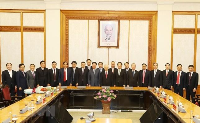 Hình ảnh lễ công bố quyết định phân công Ủy viên Bộ Chính trị ảnh 3